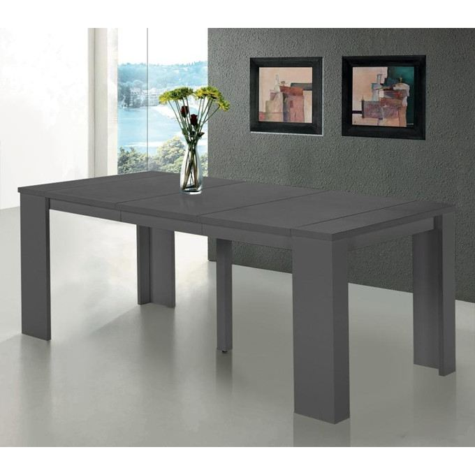Organisation table console extensible - Table console extensible grise ...