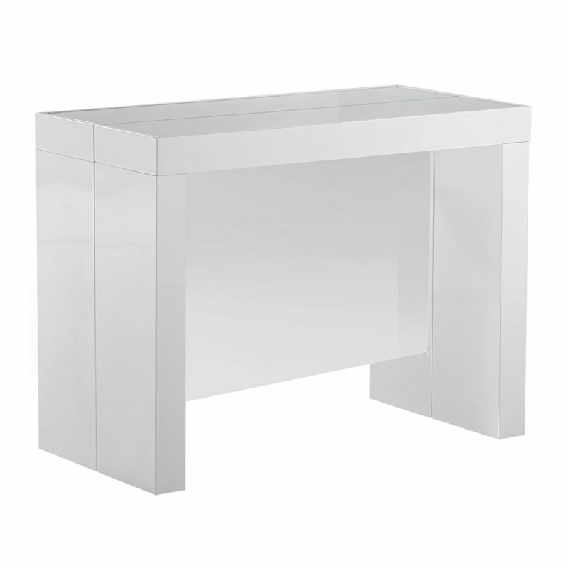 Table console rallonge integree for Table a rallonge console