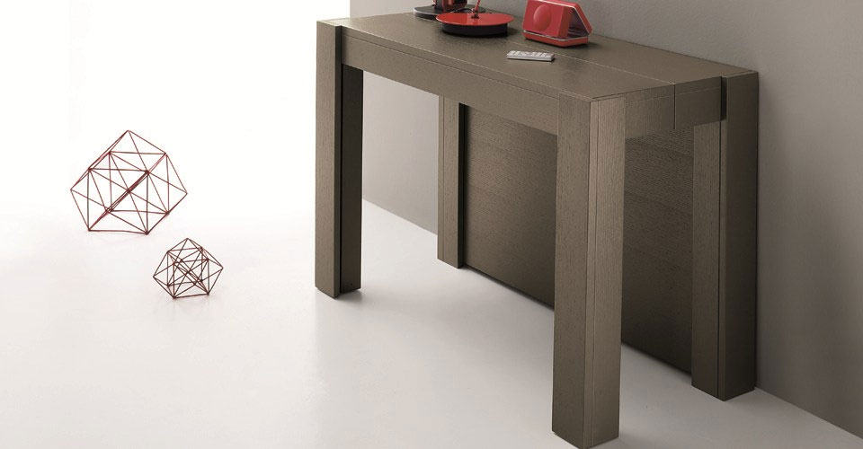 Table console rallonge integree for Table console pour cuisine