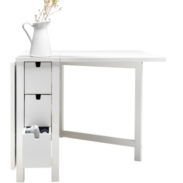 Table d 39 appoint ikea norden for Table de cuisine pliable