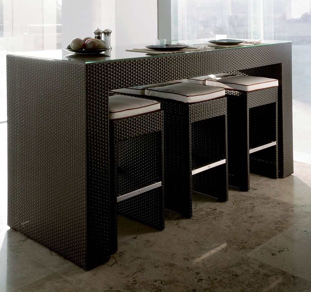 table haute bar. Black Bedroom Furniture Sets. Home Design Ideas