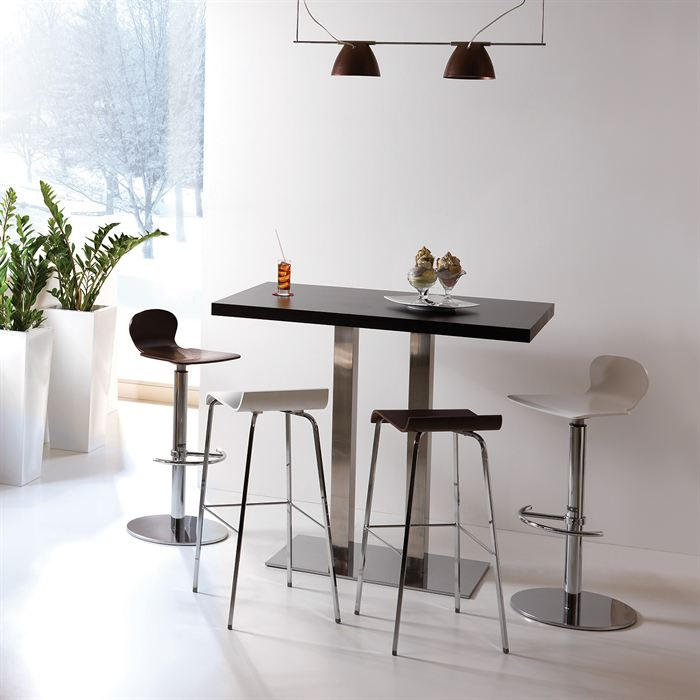 Table de bar haute noire - Ikea table haute bar ...