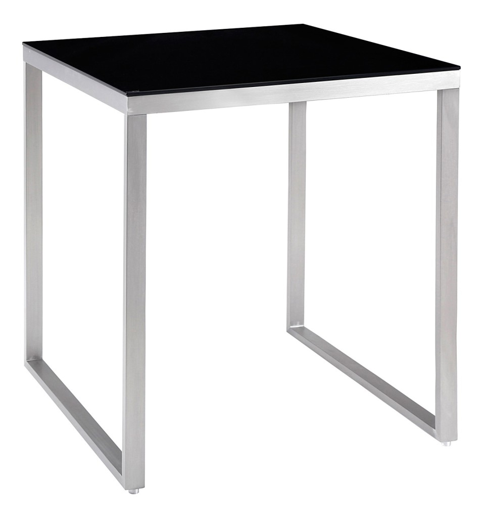 Table de bar laque blanc kenza id 39 clik - Table mange debout blanc laque ...