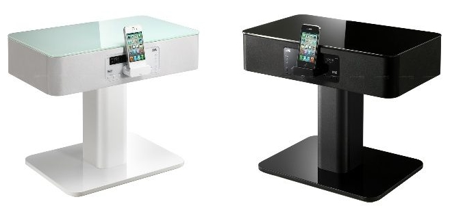 table de chevet geek. Black Bedroom Furniture Sets. Home Design Ideas