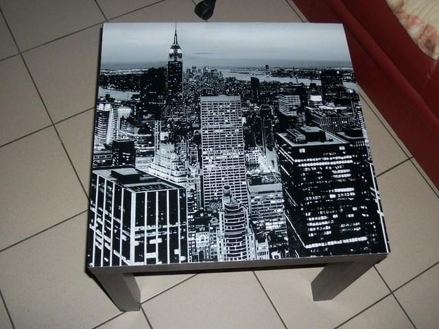 Modele Table De Chevet New York