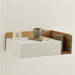table de chevet suspendue. Black Bedroom Furniture Sets. Home Design Ideas