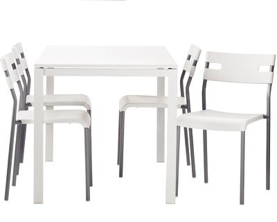 Table et chaise de cuisine ikea for Table de cuisine en verre ikea