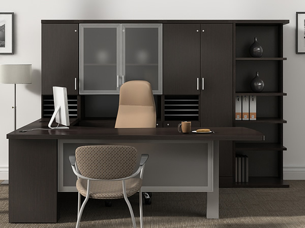 armoire de bureau moderne. Black Bedroom Furniture Sets. Home Design Ideas