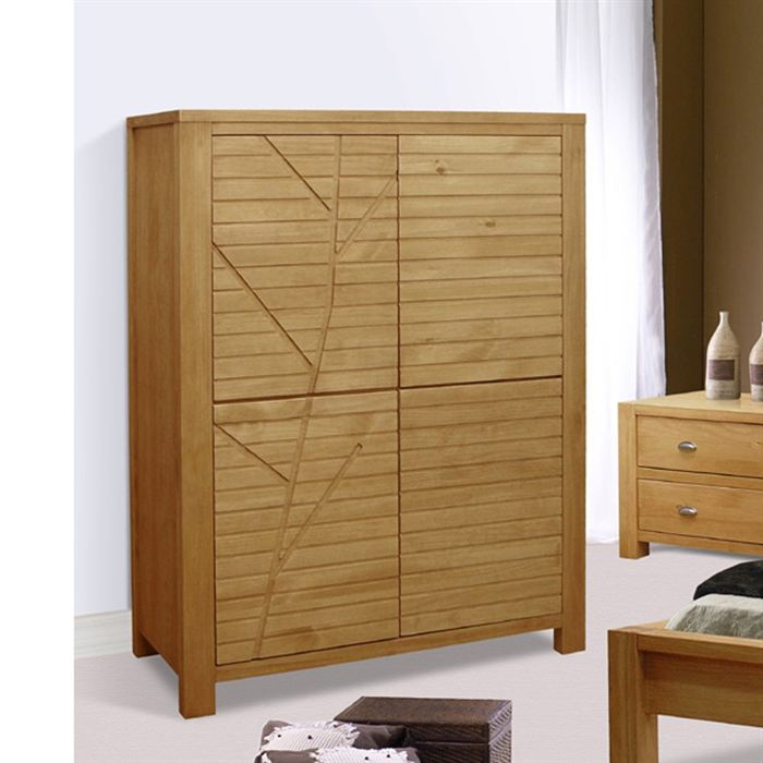 armoire de chambre en bois. Black Bedroom Furniture Sets. Home Design Ideas