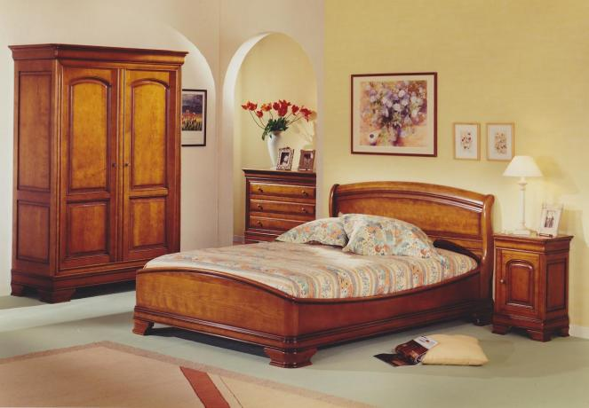 armoire de chambre merisier. Black Bedroom Furniture Sets. Home Design Ideas