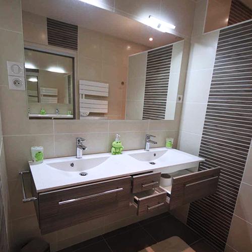 Armoire salle de bain contemporain for Modele armoire salle de bain
