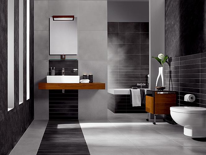organisation armoire salle de bain contemporain