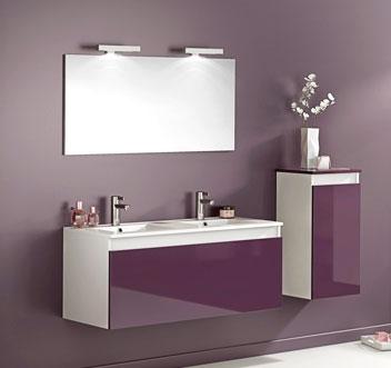 Armoire salle de bain miroir 60 cm - Meuble cuisine pour salle de bain ...