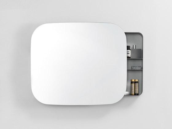 Armoire salle de bain miroir design for Miroir wc design