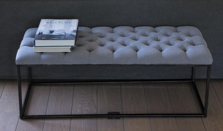 Banc de lit blanc d 39 ivoire - Meuble blanc d ivoire ...