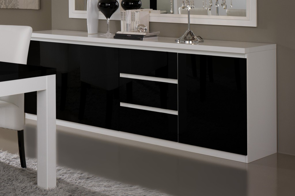buffet bas salle a manger pas cher. Black Bedroom Furniture Sets. Home Design Ideas