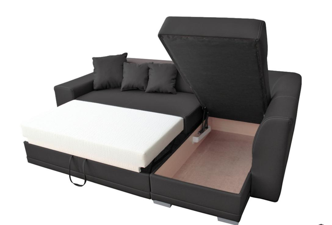 acheter canap angle convertible simili cuir. Black Bedroom Furniture Sets. Home Design Ideas
