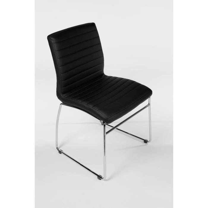 Chaise de bureau sans roulettes for S asseoir sans chaise
