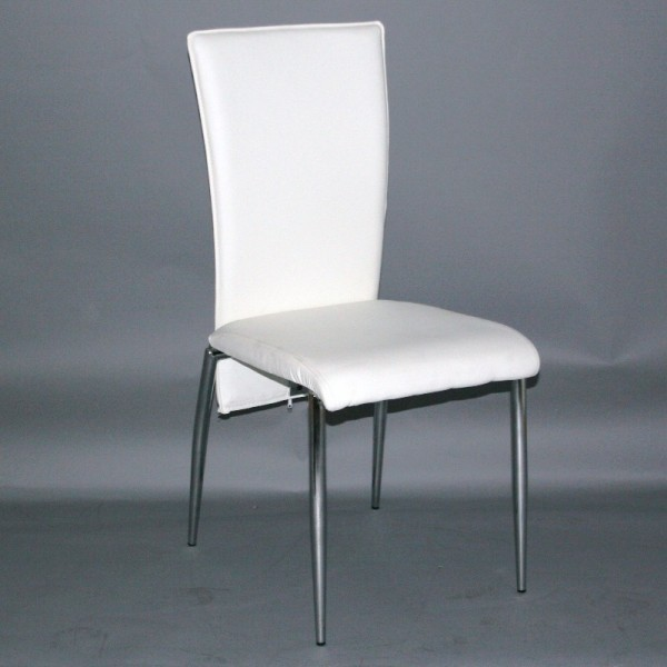 Chaise de cuisine simili cuir for Chaise simili cuir blanche