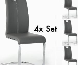 chaise de cuisine simili cuir