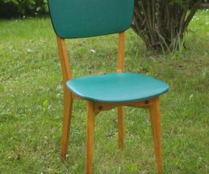 chaise de cuisine vintage