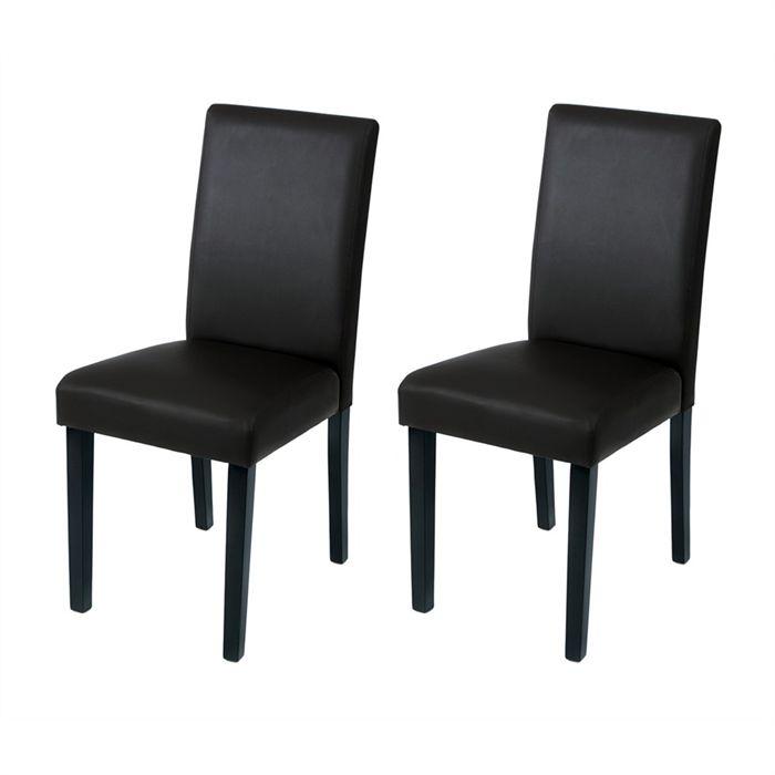 Chaise noire pas cher hoze home for Chaise de salle a manger noir pas cher
