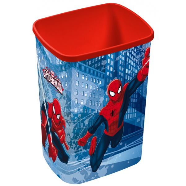 corbeille a papier spiderman. Black Bedroom Furniture Sets. Home Design Ideas