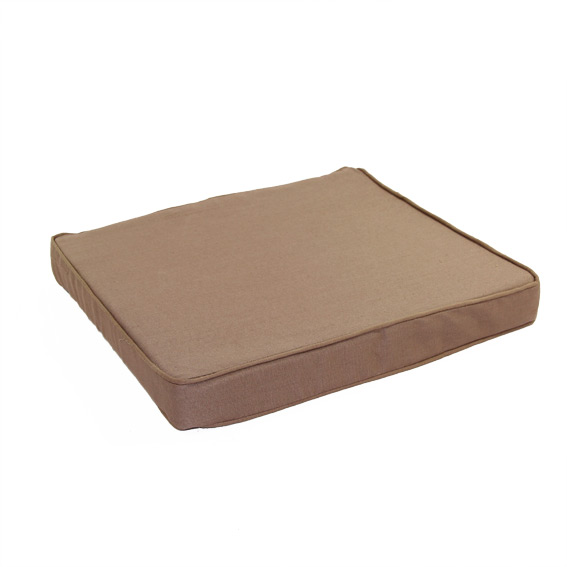 Galette de chaise rectangulaire for Galette de chaise rectangulaire