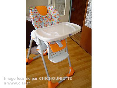 Visuel Chaise De Haute Chicco Housse QoedxWBrC