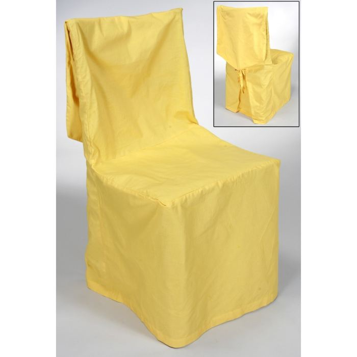 Housse de chaise jaune - Chaise de bureau jaune ...