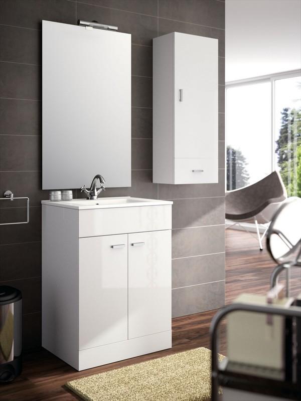 meuble bas salle de bain 60 cm. Black Bedroom Furniture Sets. Home Design Ideas