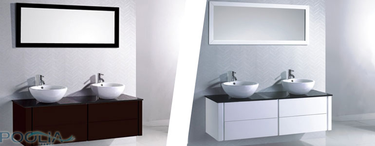 meuble bas salle de bain avec vasque. Black Bedroom Furniture Sets. Home Design Ideas
