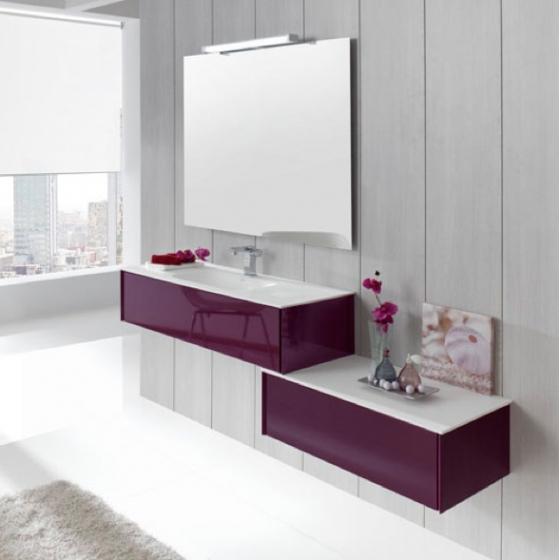 Meuble bas salle de bain design - Meuble salle de bain design contemporain ...