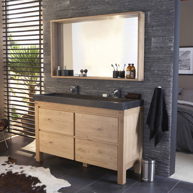 visuel meuble haut salle de bain alinea. Black Bedroom Furniture Sets. Home Design Ideas