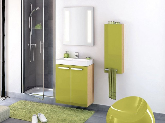 Meuble haut salle de bain alinea for Meuble haut salle de bain but