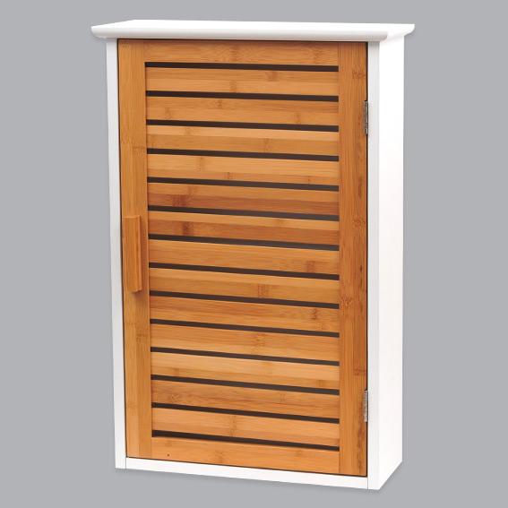 Meuble haut salle de bain en bois for Idee meuble salle de bain