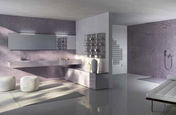 design italien salle de bain. Black Bedroom Furniture Sets. Home Design Ideas