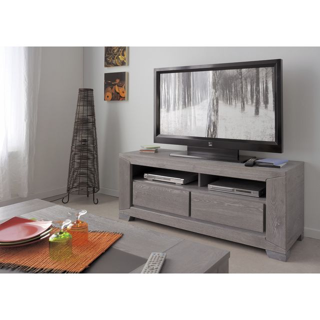 Mueble tv gris 20170921221041 for Meuble tv gris
