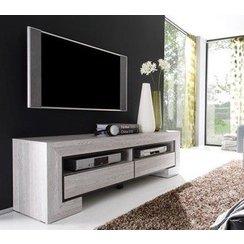 meuble tv haut gris. Black Bedroom Furniture Sets. Home Design Ideas