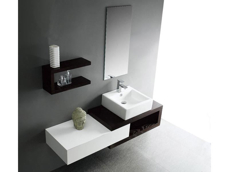 Meuble vasque design italien for Console salle de bain