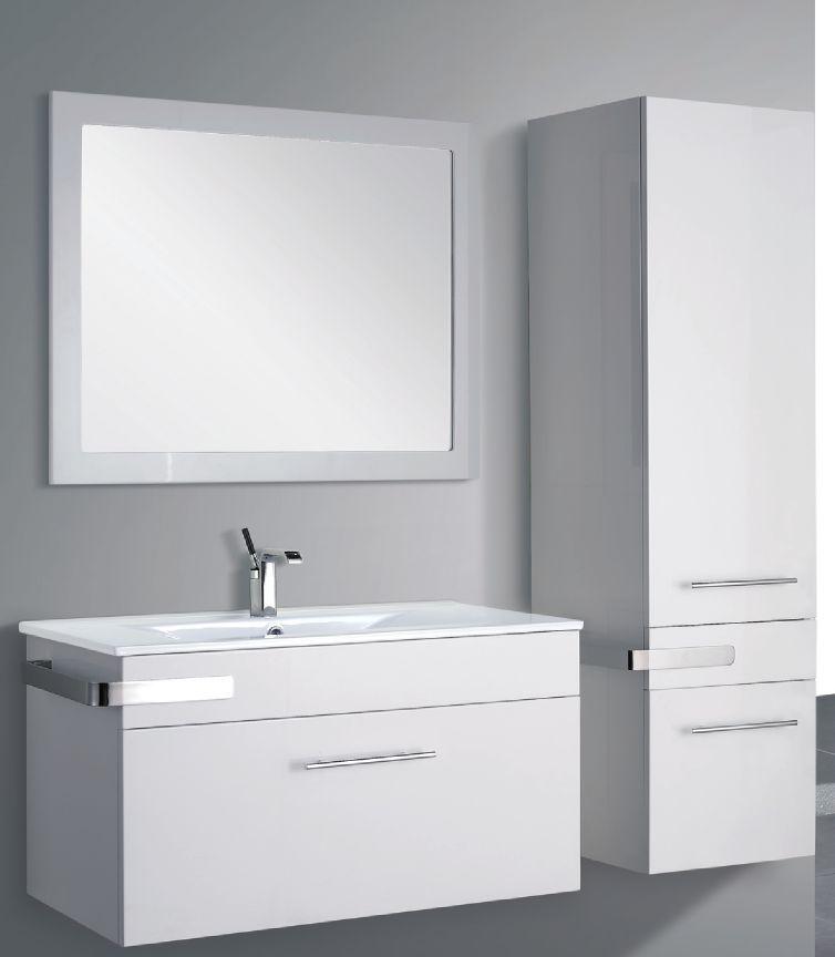 meuble vasque miroir. Black Bedroom Furniture Sets. Home Design Ideas