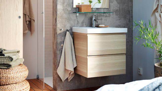 meuble vasque peu profond. Black Bedroom Furniture Sets. Home Design Ideas