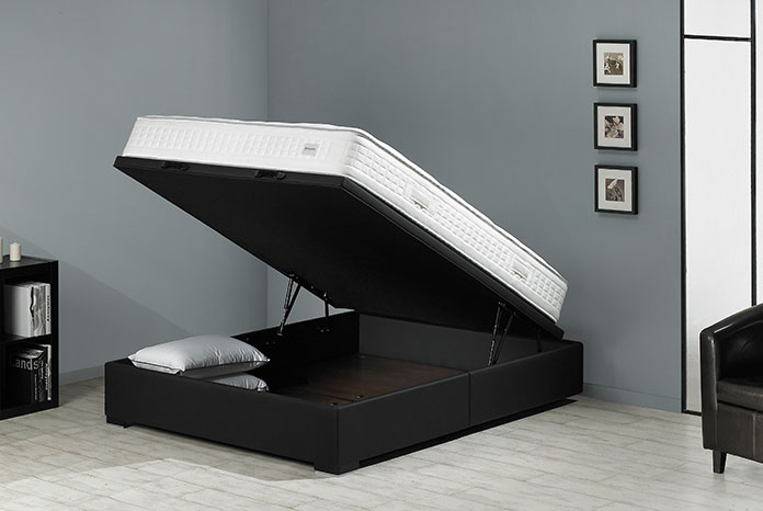 pieds de lit pour sommier simmons. Black Bedroom Furniture Sets. Home Design Ideas