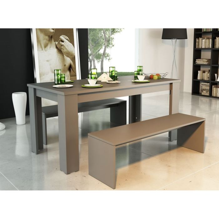 Ordinaire banc table a manger 5 table a manger avec banc for Table salle a manger avec banc