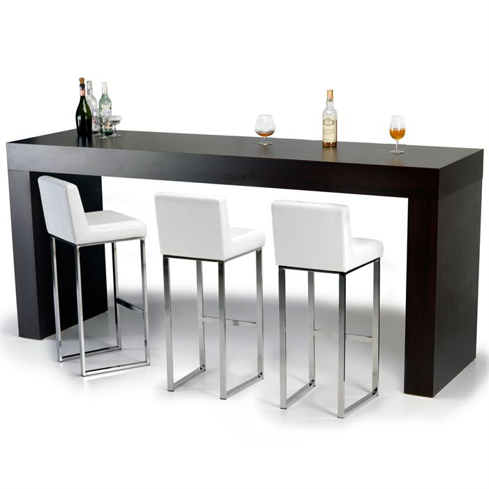 table de bar haute rectangulaire maison design. Black Bedroom Furniture Sets. Home Design Ideas
