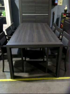exemple table a manger gris anthracite