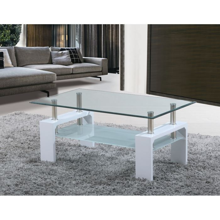 table basse en verre cdiscount. Black Bedroom Furniture Sets. Home Design Ideas