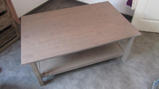 Table Basse Hemnes Gris Brun