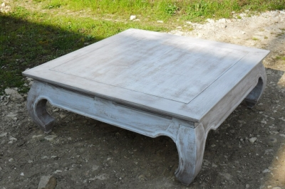 Sehr Table Basse Bois Patin. Vitre Pour Table Basse Sur Mesure Table  OO78