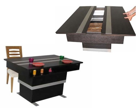 table rabattable cuisine paris table transformable pas cher. Black Bedroom Furniture Sets. Home Design Ideas